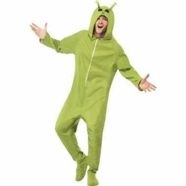 Alien feest kostuum groen