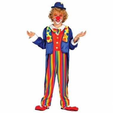 Carnavalsfeest kostuum clown kostuum voor kinderen