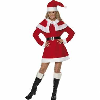 Dames kerstfeest kostuum jurkje