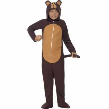 Feest kostuum aap all in one voor kinderen