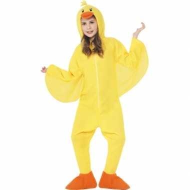 Feest kostuum eendje all in one voor kinderen