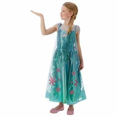 Feest kostuum Elsa Frozen voor meisjes