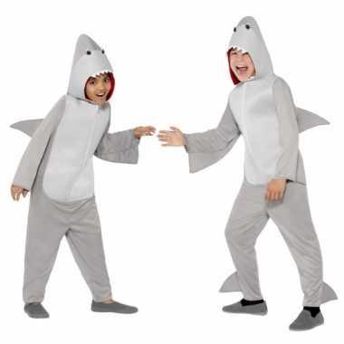 Feest kostuum haai all-in-one voor kinderen