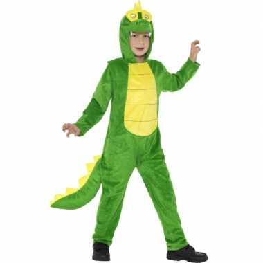 Feest kostuum krokodil all in one voor kinderen