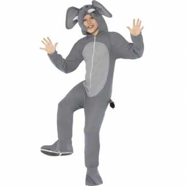 Feest kostuum olifant all in one voor kinderen