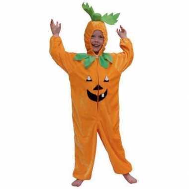 Feest kostuum pompoen all-in-one voor kinderen