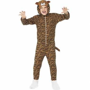 Feest kostuum tijger all-in-one voor kinderen