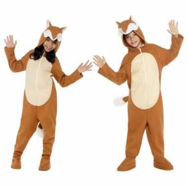 Feest kostuum vos all-in-one voor kinderen