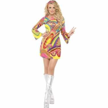 Hippie feest kostuum voor dames