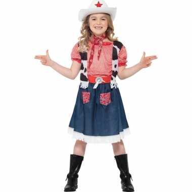 Meisjes cowboy feest kostuum