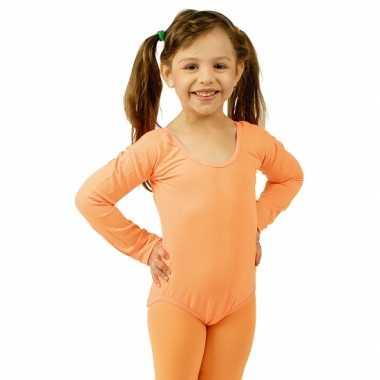 Oranje kinder ballet feest kostuum