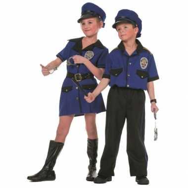 Politie feest kostuum voor meiden