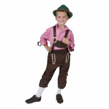 Schlager kostuum voor kinderen