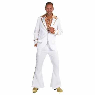 Witte seventies feest kostuum heren
