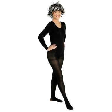 Zwarte ballet feest kostuum